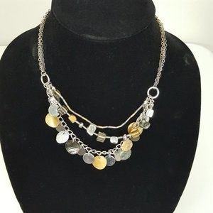 Croft & Barrows Gold And Silver Necklace